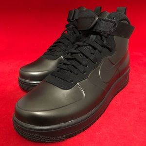 Nike air force one foamposite cup black